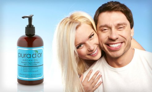 Pura D or Premium Organic Hair-Loss-Prevention Shampoo Deal of the