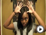 "#3: Hair Extensions Tutorial (clip-ins) - ""Aurora Black Series"