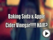 Apple Cider Vinegar & Baking Soda Hair Treatment