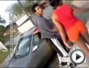 Disturbing: Pregnant Girl Gets Beat Up For Talking Mess On