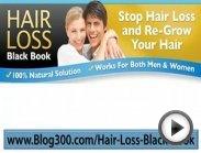 Hair Loss Black Book - Hair Loss Scam - Hair Loss Reversible