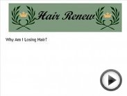HAIR RENEW womens hair loss regrowth thin thinning hair female