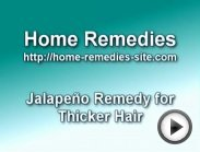 Home Remedy for Thicker Hair