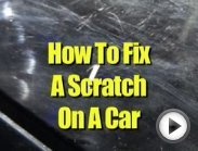 How to Fix a Scratch on a Car