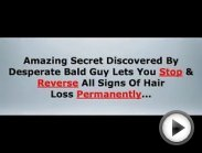 How to regrow hair - how to stop hair loss