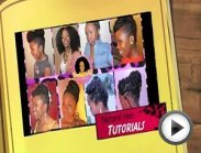 Pin-Up Hairstyle for Proms, Dances, Galas and More on Natural Hair