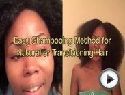 Simple Shampoo Method & Apple Cider Vinegar Rinse Recipe for