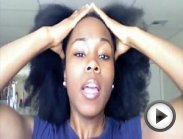 Twisting on Dry Natural Hair!